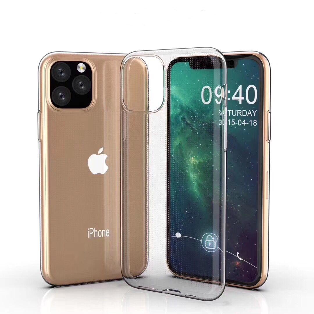 아이폰11프로 0.75mm 울트라씬 울트라씬 TPU 투명 보호 케이스