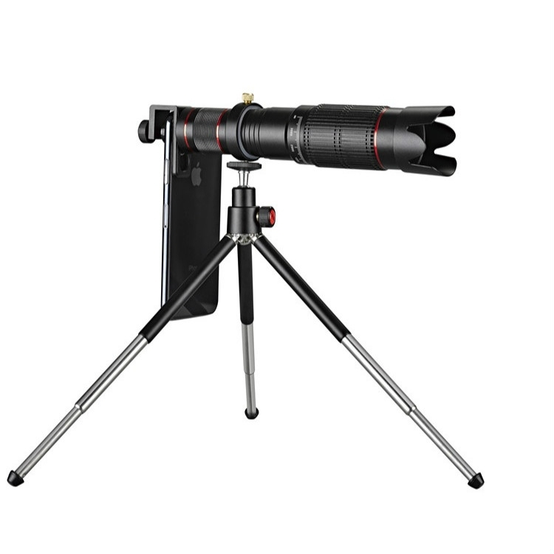 삼각대 마운트 및 핸드폰 클립 및 블루투스 원격 컨트롤러와 유니버셜 외부 36X 줌 망원 전화 망원경 렌즈