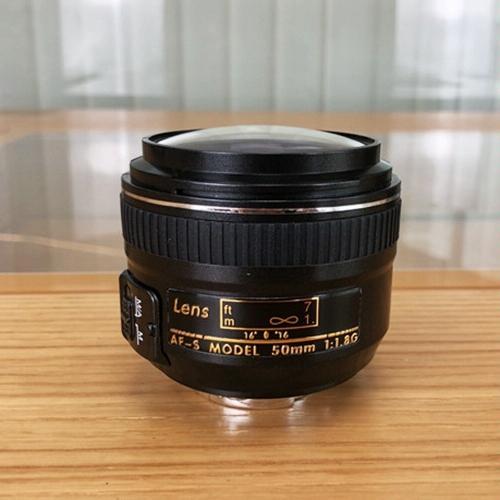 DF DSLR 카메라 페이크 더미 렌즈 (블랙)
