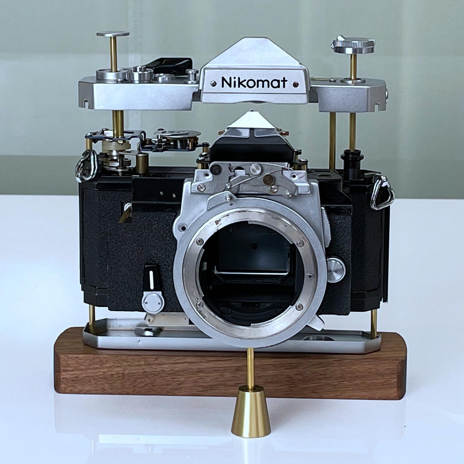 니콘 카메라 모형 소품 (커피)